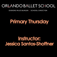 Primary Thursday - Jessica Santos-Shoffner